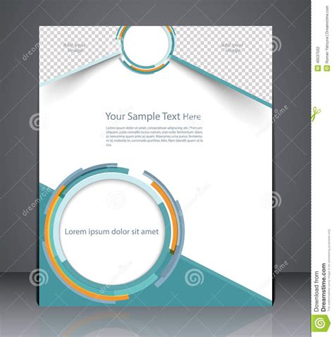 corporate layout free vector layout business brochure magazine cover or corporate