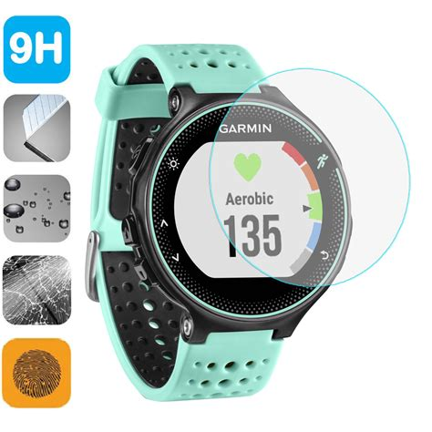 9h Tempered Glass Screen Protector For Garmin Forerunner 225 220 230 2 9h tempered glass lcd screen protector shield for garmin forerunner 220 225 235 620 smart