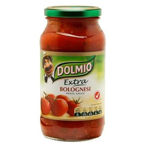 best pasta for bolognese sauce buy dolmio pasta sauce bolognaise jar 500g at