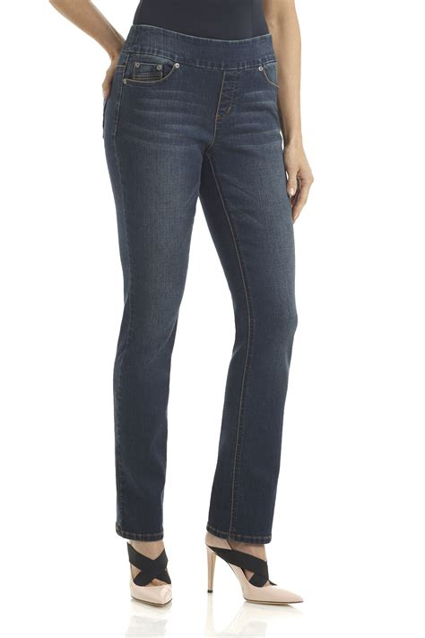 comfort jeans ladies rekucci jeans women s quot ease in to comfort quot stretch