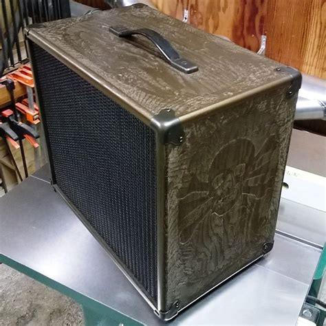 custom guitar speaker cabinets custom carved guitar speaker cabinet 1x12 reverb