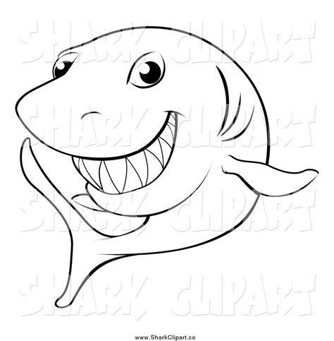 shark face coloring page shark clip art black and white cliparts co