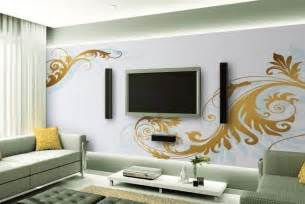 decorative ideas for living room tv wall interior design