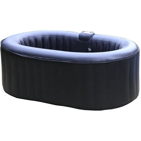 2 Person Portable Tub homax 145 gallon 2 person oval portable tub