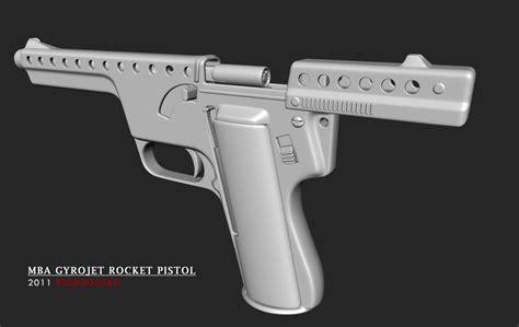 Mba Gyrojet Rocket Pistol by Mba Gyrojet Rocket Pistol By Redroguexiii On Deviantart