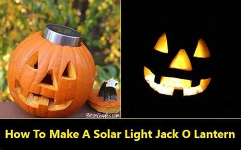 make a solar light how to make a solar light o lantern