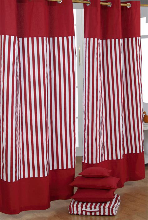 red and white striped drapes red striped kitchen curtains www imgkid com the image