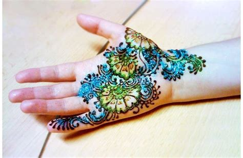 42 easy mehndi designs for kids adoring the hands of