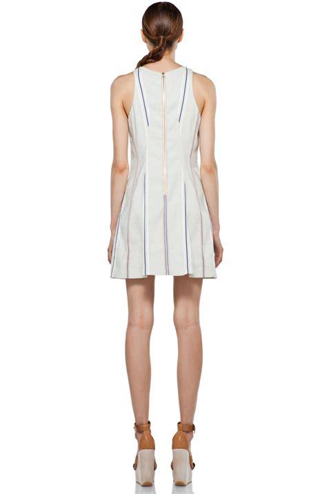 Hem Adeline Blue rag bone adeline dress in pale blue 4