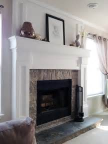 diy fireplace hearth diy fireplace mantel redo diyaffair