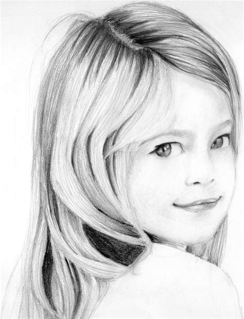 pencil sketch drawing images portrait pencil drawing of a by neeshma on