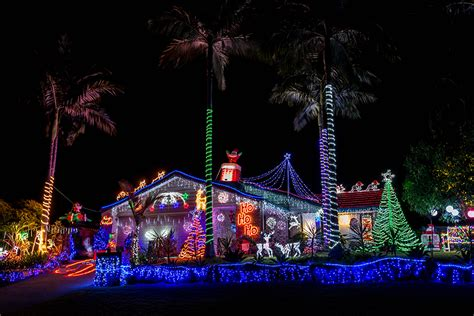 city of gold coast christmas lights competition 2017