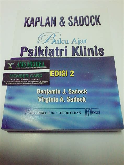 Buku Ajar Psikiatri Klinis Kaplan Dan Sandock Edisi 2 Benjamin J ams medika penyakit kardiovaskular pkv 5 rahasia