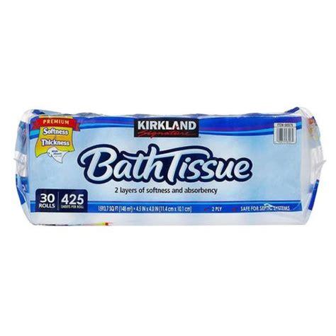 kirkland signature bath tissue toilet paper review
