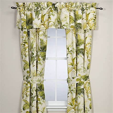 tropical curtain give your home a new feel factor with tropical curtains