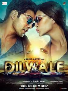 Dilwale new poster hindi movie music reviews and news