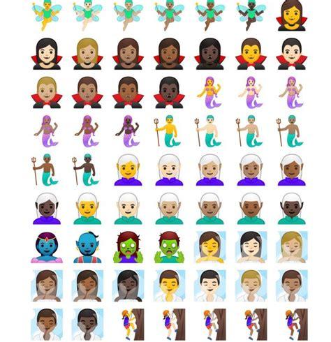 emoji android oreo los nuevos emojis de android oreo