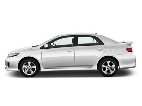 Toyota Size Sedan Image 2011 Toyota Corolla 4 Door Sedan Auto S Natl Side