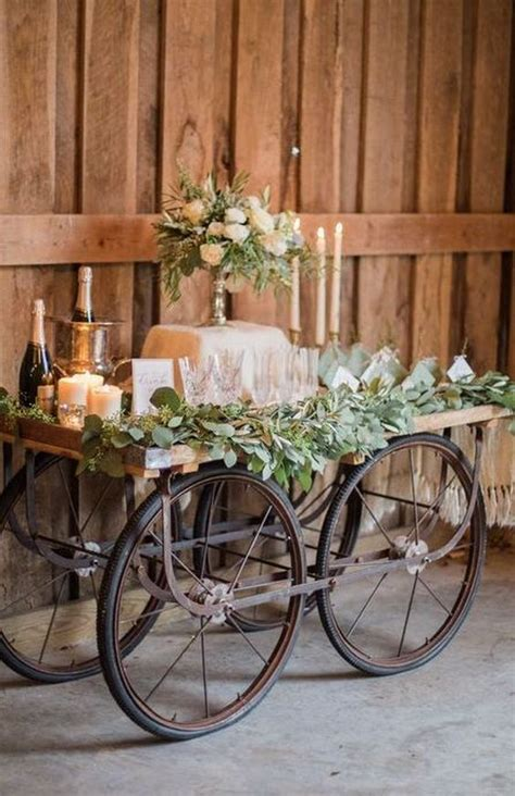 25 wagon wheelbarrow country wedding ideas deer pearl flowers