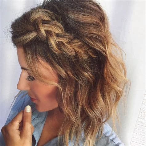 easy cute bob hairstyle gallery 25 best ideas about short braided hairstyles on pinterest