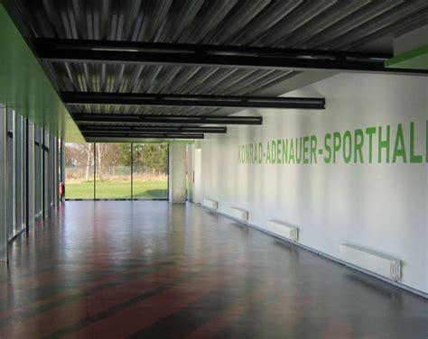 foyer unna sporthalle an der konrad adenauer realschule hamm in hamm