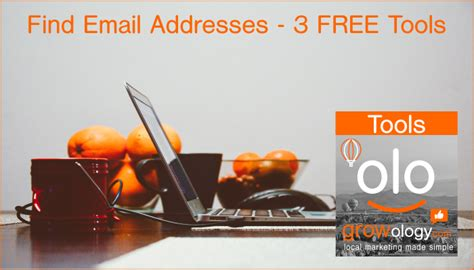 Email Address Search Tool 3 Free Tools To Help You Find Email Addresses Growology
