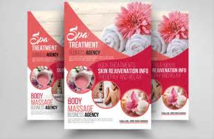 19 spa flyers free psd ai eps format download free