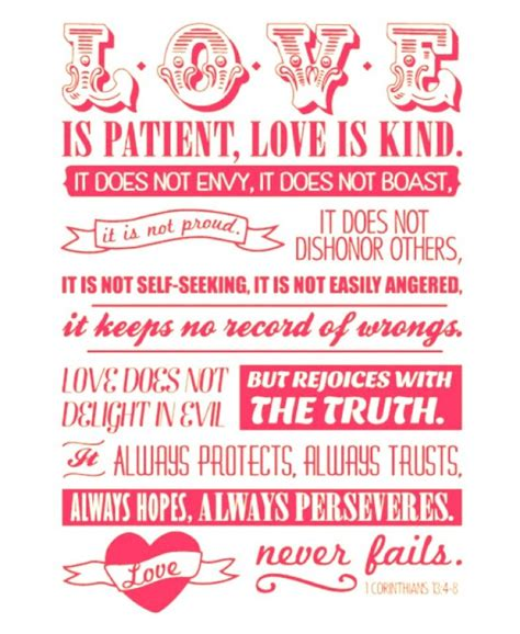 printable quotes love love is patient love is kind a small act of kindness