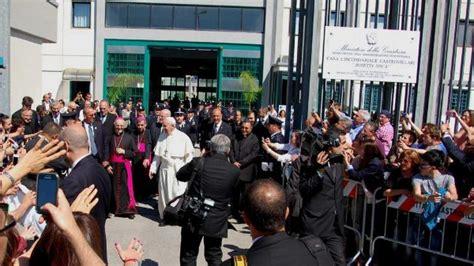 casa circondariale castrovillari le parole di papa francesco nel carcere di castrovillari