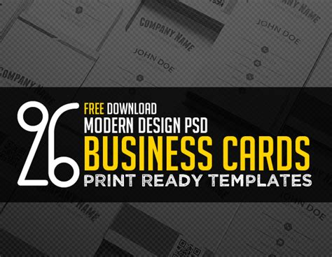 ready made business card templates free business card templates freebies graphic design
