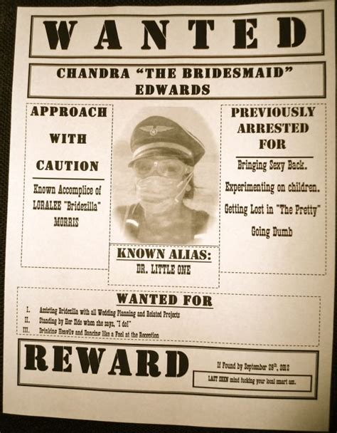 wanted poster invitation template bridesmaid invitations wanted posters weddingbee photo