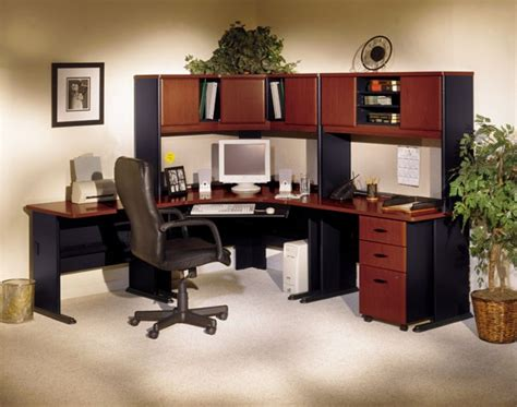 bush office furniture series a series a hansen cherry 48 inch corner desk from bush wc90466a coleman furniture