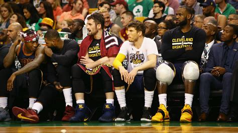 cavs bench nba finals 2017 cavs vs warriors series puts season long