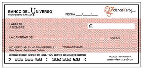 imagenes de cheques en blanco para imprimir el cheque de la abundancia
