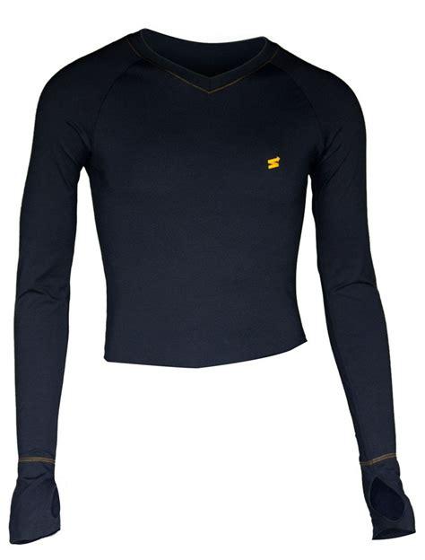 Lycra Layer Shirt black poly spandex base layer shirt thermal clothing inc