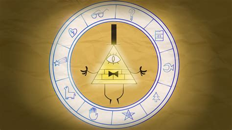 gravity falls bill cipher wheel bill cipher wheel wallpaper wallpapersafari