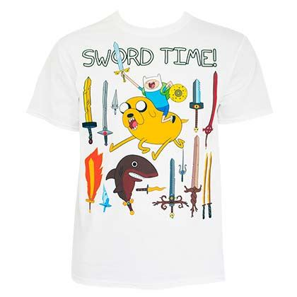 Tshirt Adventure adventure time official merchandise gadgets tshirts wallets