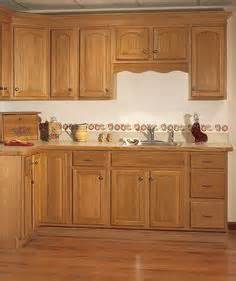 Hardware For Oak Kitchen Cabinets by Oak Kitchen Cabinets With Semi Concealed Hinges Rta