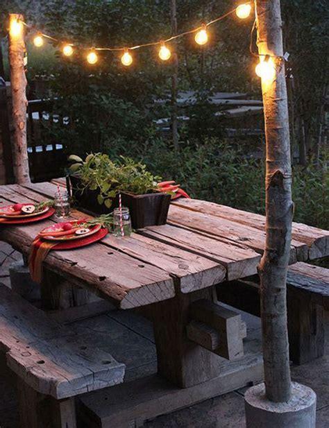 15 Shabby Chic Garden Lighting Ideas   House Design And Decor