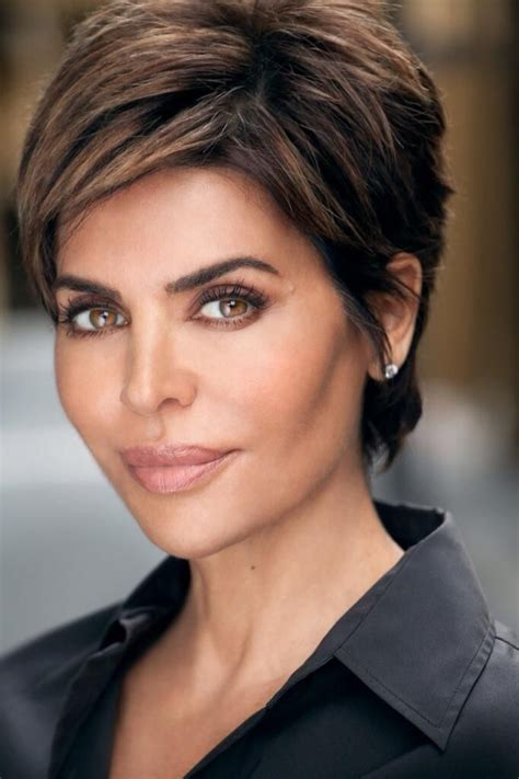 chubby celebrities with short hair lisa rinna on hair style short hair and hair cuts