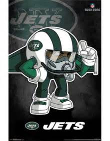 Nfl Wall Stickers new york jets rusher 13 wall poster