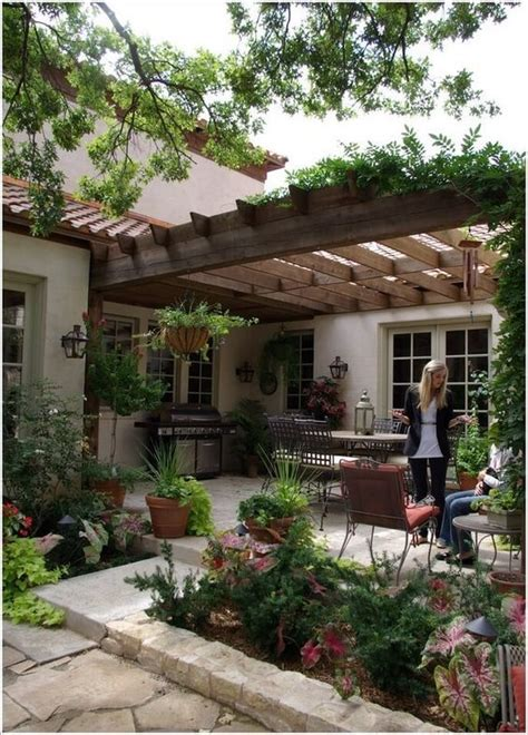 Mediterranean Backyard Landscaping Ideas Best 20 Patio Ideas On Pinterest