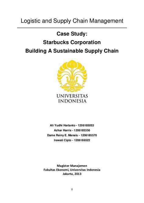 Format Makalah Universitas Indonesia | makalah starbuck