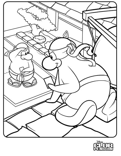 301 Moved Permanently Club Penguin Coloring Pages