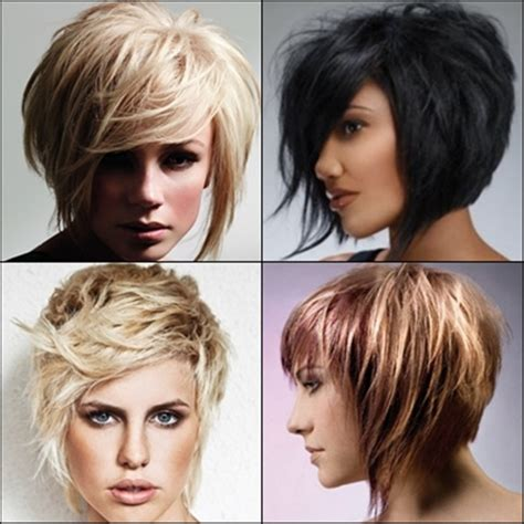 textured bob hairstyles 2013 short choppy hairstyles with bangs for 2014 short