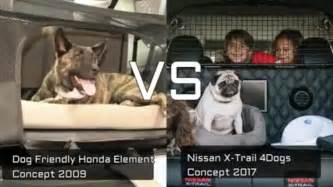 Nissan X Trail For Dogs by Nissan X Trail 4dogs Vs Friendly Honda Element Car For