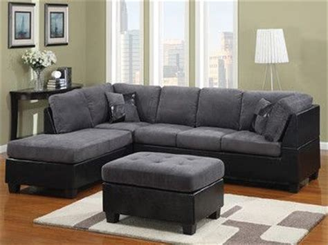 Black And Grey Sectional by Black And Gray Family Room Ideas Grey Fabric And
