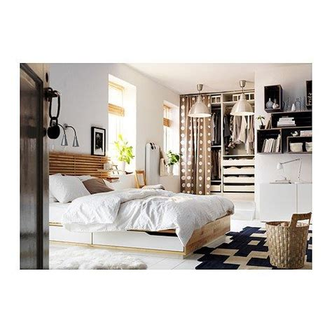undredal bed frame with drawers headboards and closet