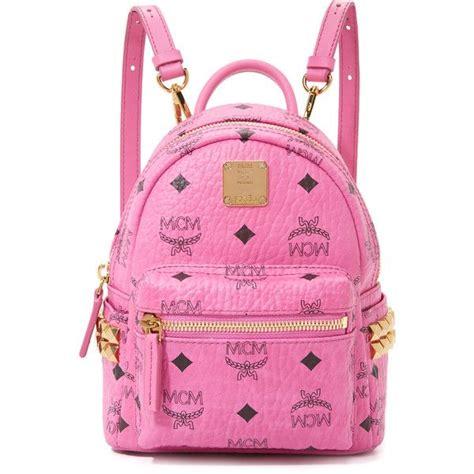 Mcm Mini Backpack B Gantungan Tas 25 beste idee 235 n pink mcm backpack op