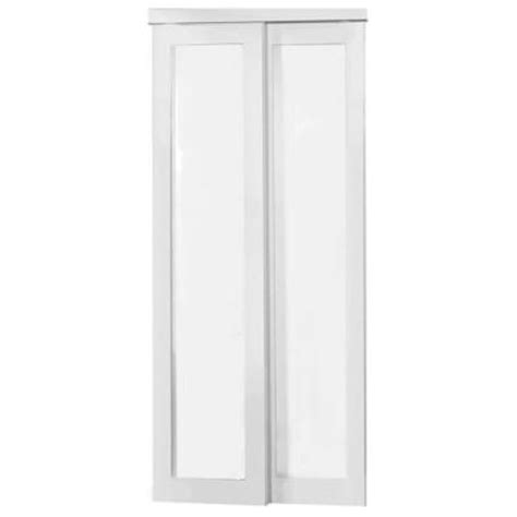 Truporte Closet Doors by Truporte 48 In X 80 50 In 2010 Series White 1 Lite